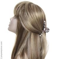 Accessoire cheveux pince et tissu