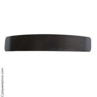 Barrette cheveux noir métal