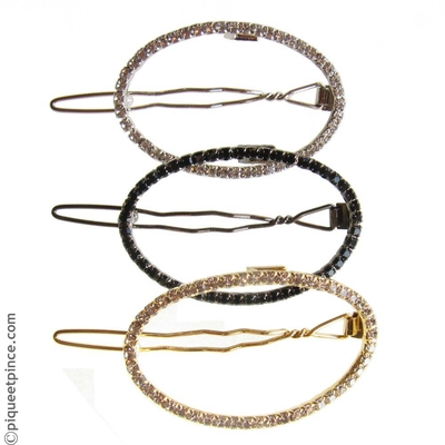 bijoux de cheveux strass