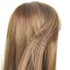 Barrettes cheveux pailletées très fines