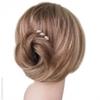 Pic à cheveux fleur perles et strass