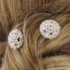 Épingle à cheveux bouquet de strass