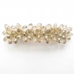 barrette cheveux - perles en cristal  (3)