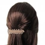 barrette cheveux - perles en cristal  (2)