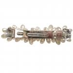 barrette cheveux - perles en cristal  (4)