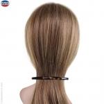 Barrette pour cheveux très fine foncée