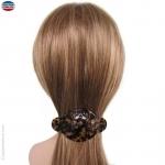 barrette pour cheveux écaille rétro