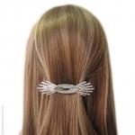bijou de cheveux  barrette swarovski  soleil
