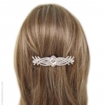 barrette à cheveux  strass swarovski