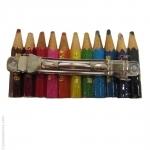 Barrette de cheveux crayons