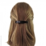 barrette cheveux moyenne noire