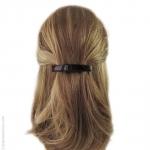 barrette cheveux moyenne écaille