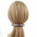 barrette à cheveux python