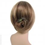 Pic à cheveux cantate vert