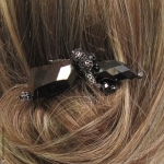 Pic à cheveux cantate hèmatite