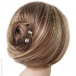 pics à cheveux maxi strass
