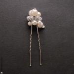 pic à cheveux mariage perles