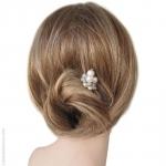 pic cheveux perles