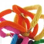 élastiques cheveux couleurs vives