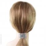 elastique cheveux ethnique turquoise