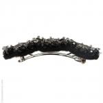 barrette de cheveux bohème tulle