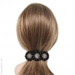 barrette cheveux bohème tulle