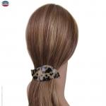 grande barrette à cheveux écaille vague