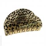 pince cheveux guépard