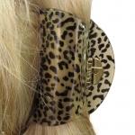 pince a cheveux guépard