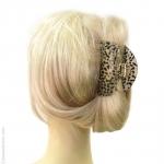 pince de cheveux guépard