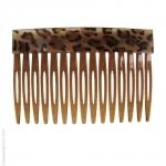 peigne cheveux léopard