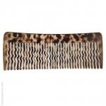 Grand peigne cheveux brun clair