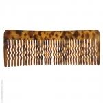 Grand peigne pour cheveux bruns