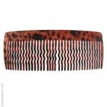 Grand peigne pour cheveux brun foncé