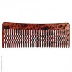 Grand peigne cheveux brun foncé