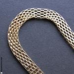 serre-tête élastique chaine or