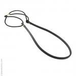 Headband lanière noire