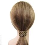 élastique cheveux ethnique  et sequins