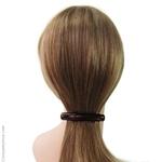 barrette cheveux classique marron