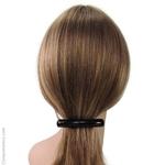 barrette cheveux classique noire