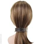 Barrette cheveux  métalllique