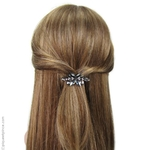 barrette cheveux bijou clair