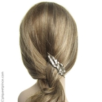 bijou de cheveux broche