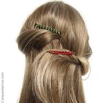 Peignes bijou de cheveux perlés
