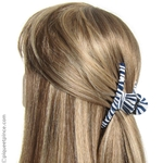 accessoire cheveux pince tissu