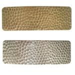 Barrette pour cheveux en métal doré ou argenté