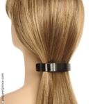 Barrette cheveux métal noir