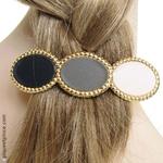 barrette cheveux bijou or original