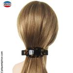 barrette à cheveux fabrication Française foncée