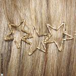Accessoire cheveux étoiles or